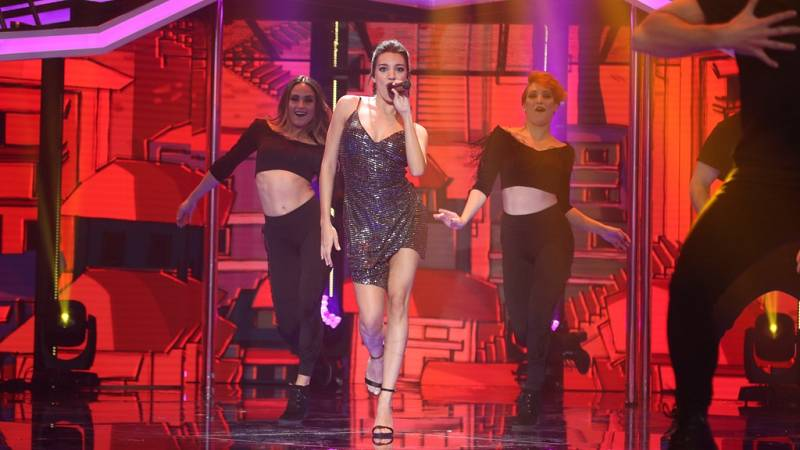 Operación Triunfo - Ana Guerra canta 'El remedio' en la Gala Eurovisión de OT