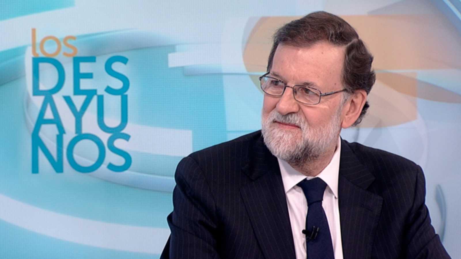 """Rajoy llama a """"recuperar la normalidad"""" en Cataluña"""