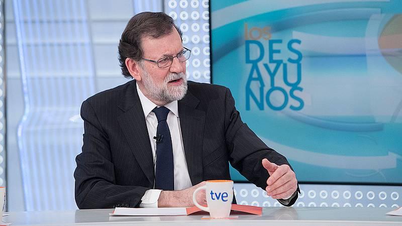 Los Desayunos de TVE - Mariano Rajoy, presidente del Gobierno