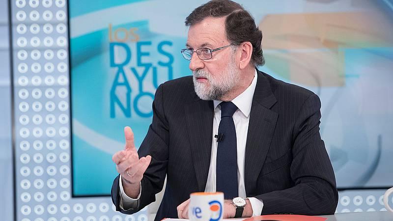 """Rajoy, sobre la brecha salarial: """"Me retracto: daremos todas las batallas para que esas situaciones sean menores"""""""
