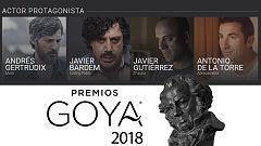 De película - ¿Qué actor protagonista se llevará el Goya?