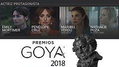 De película - ¿Qué actriz protagonista se llevará el Goya?