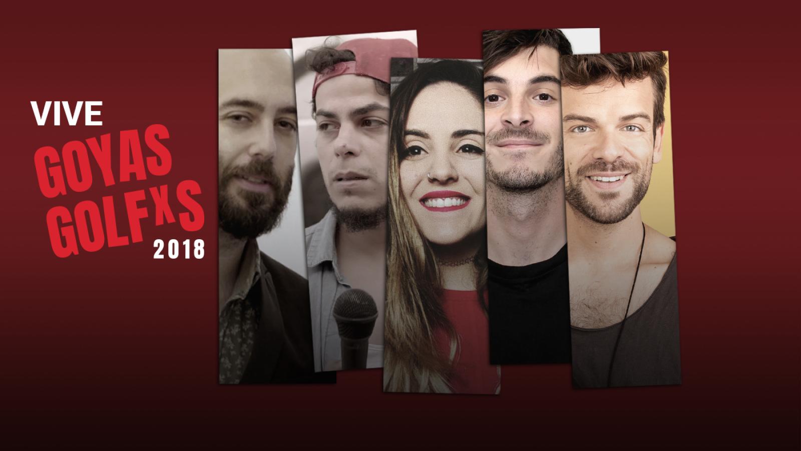 Goyas Golfos 2018 - Andrea Compton y Antón Lofer retransmitirán los Goyas Golfos desde el backstage y la alfombra roja