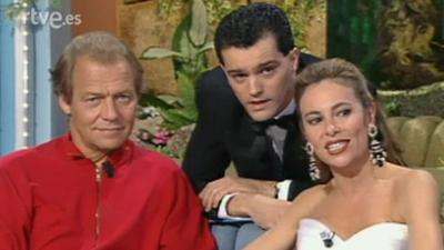 David Soul, Maria Teresa Campos, Enrique Ponce,Coral Bistuer