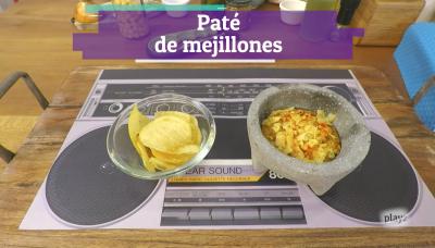 Receta: paté de mejillones