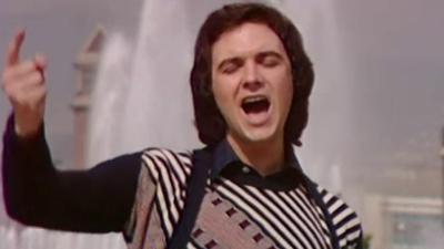 Videoclip de 'Algo mas', la canción de camilo Sesto para el Festival OTI 1973