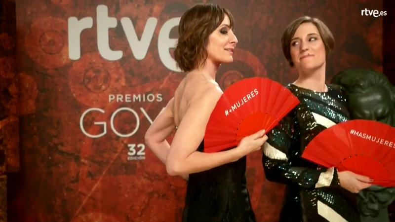 Nathalie Poza, en la cámara glamur