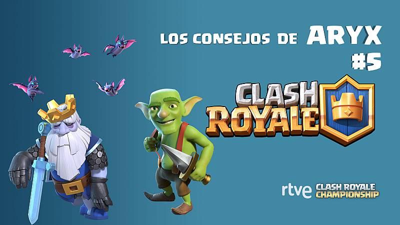 Clash Royale - Los consejos de Aryx 5 - Cómo gestionar el elixir