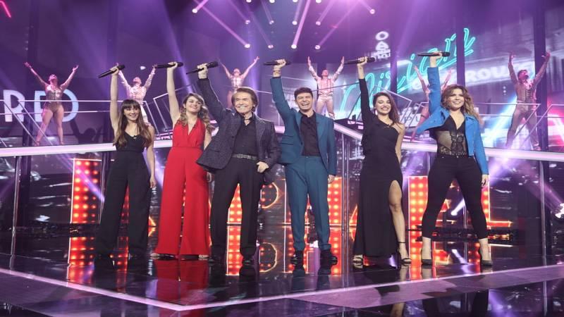 Operación Triunfo - Raphael canta 'Mi gran noche' con los finalistas