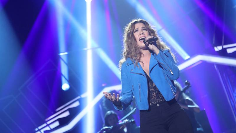 Operación Triunfo - Miriam canta 'Invisible' en la Gala Final de OT
