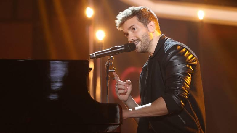 Operación Triunfo - Pablo Alborán canta 'Prometo' en la Gala Final de OT