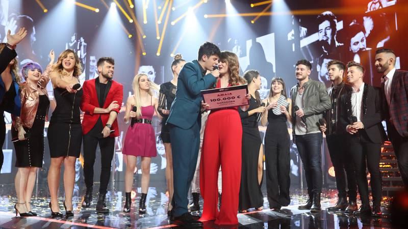 Operación Triunfo - OT 2017 canta 'Camina' en la Gala Final de OT