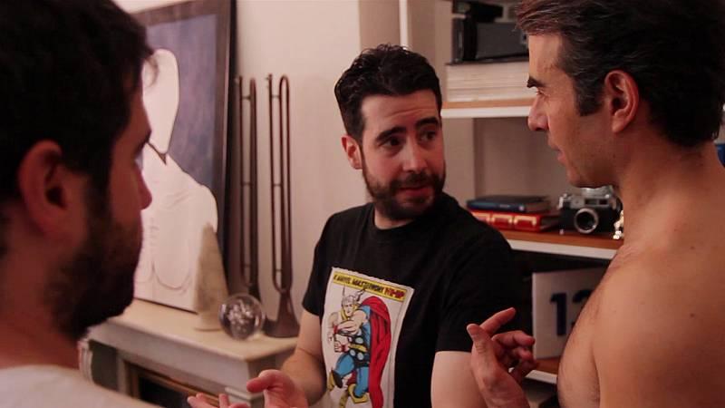 Dorien - ¿Cómo es un rodaje con Kiko y Javi Prada, los creadores de 'Dorien'?