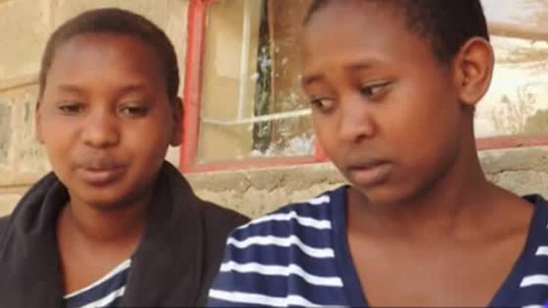 """Las niñas que dicen """"no"""" a la ablación en Kenia"""