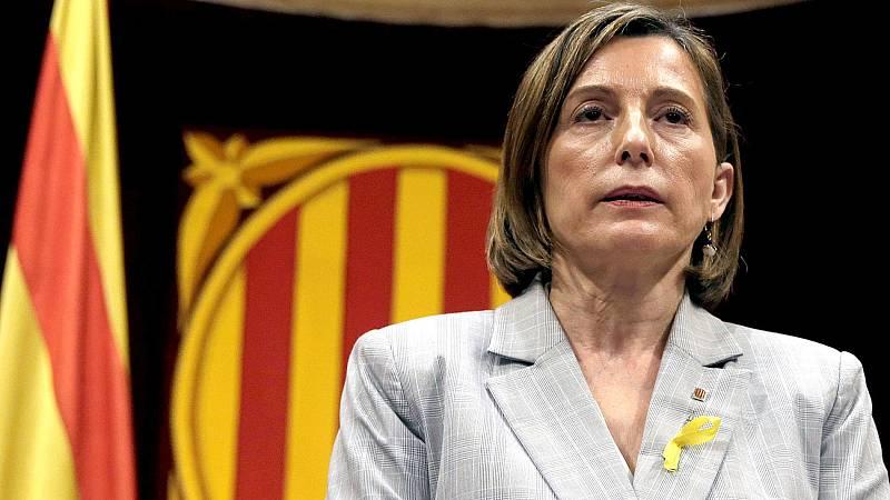 Forcadell afirmó ante el juez Llarena que no declaró la independencia de Cataluña