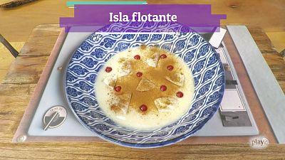 Receta: isla flotante