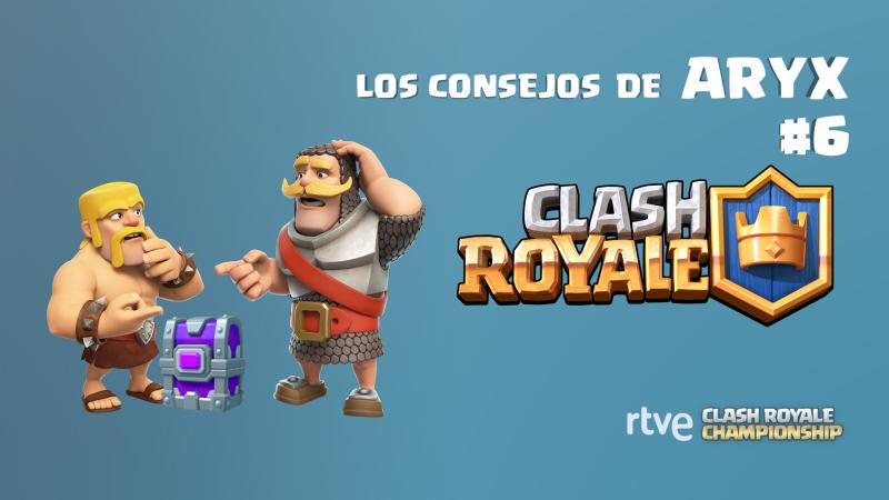 Clash Royale - Los consejos de Aryx 6 - Cómo situar las cartas en la arena