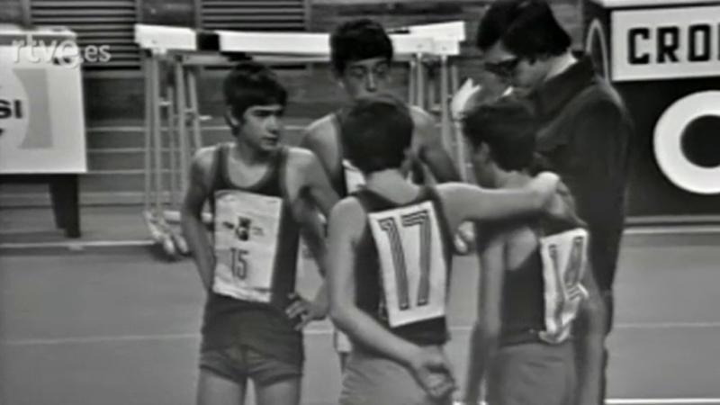 Torneo - Primera semifinal de atletismo masculino escolar - 30/07/1977
