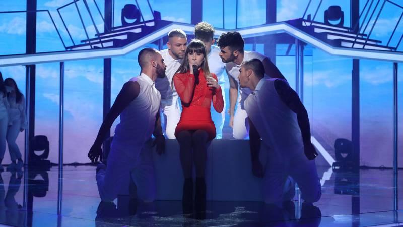 Operación Triunfo - Aitana canta 'Issues' en la Gala Fiesta de OT