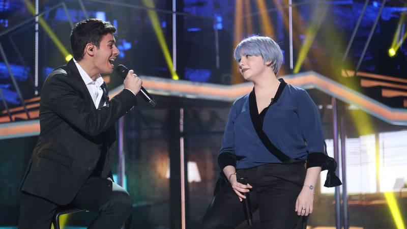 Operación Triunfo - Alfred y Marina cantan 'Don't dream it's over' en la Gala Fiesta de OT