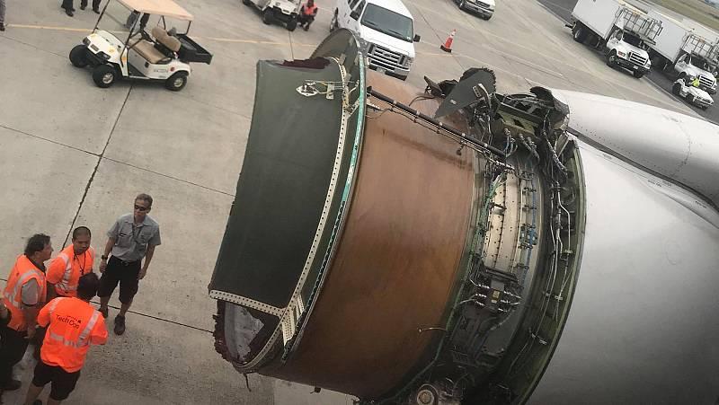 EE.UU. : Susto para los pasajeros de un avión que sobrevolaba el Pacífico
