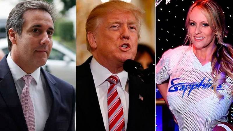 Un abogado de Trump reconoce que pagó 130.000 dólares a la actriz porno Stormy Daniels