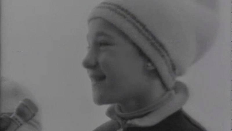 Blanca Fernández Ochoa en el programa 'Fuera de banda' (1972)
