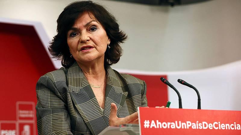 El PSOE no avala que se use el 155 para garantizar el derecho a estudiar en castellano en Cataluña