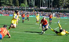 Ensayo de Beñat, España 5-0 Rumanía