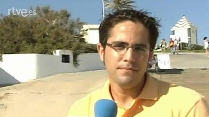 El debut de Roberto Leal como reportero de 'España Directo' (2005)