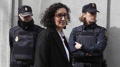 Rovira queda en libertad bajo fianza tras declarar que propuso suspender el 1-O y Puigdemont se negó