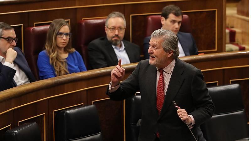 """El Gobierno admite que no puede modificar """"el modelo educativo"""" catalán"""