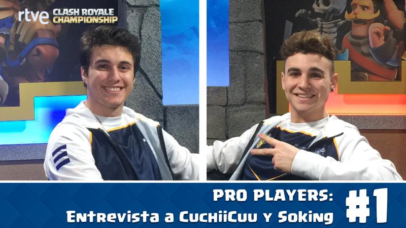 La trayectoria de los jugadores de Clash Royale CuchiiCuu y Soking