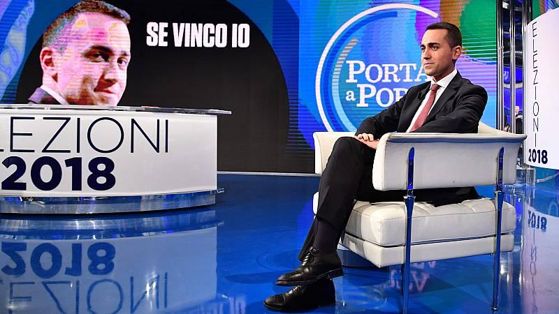 """Italia se prepara para unas elecciones inciertas con los sondeos a favor del """"cinco estrellas"""" Di Maio"""