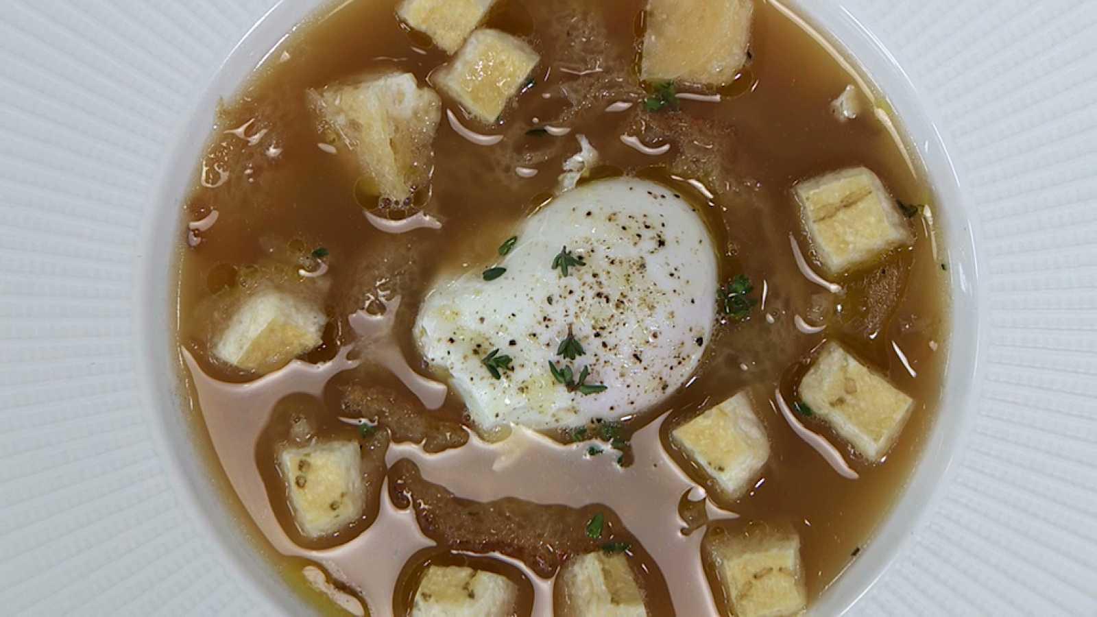 Torres en la cocina -  Sopa de parmesano