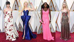 Adiós al negro: el color vuelve a la alfombra roja de los Oscar