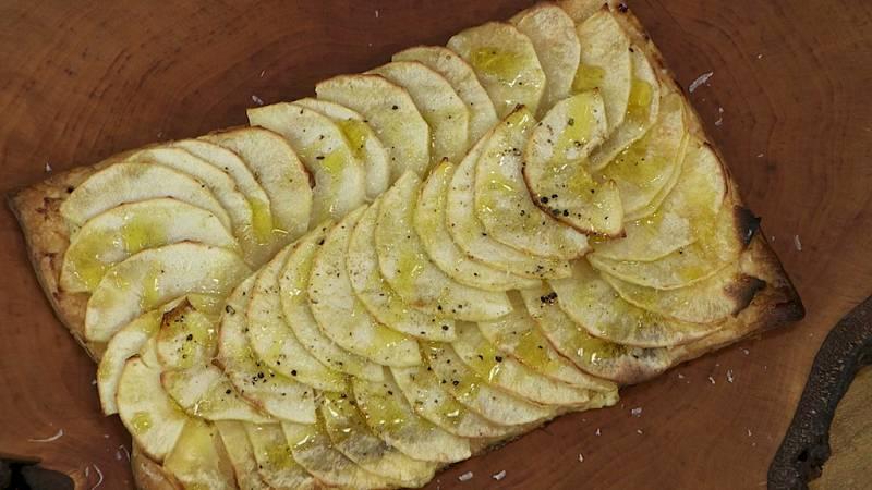 Torres en la cocina - Tarta de manzana