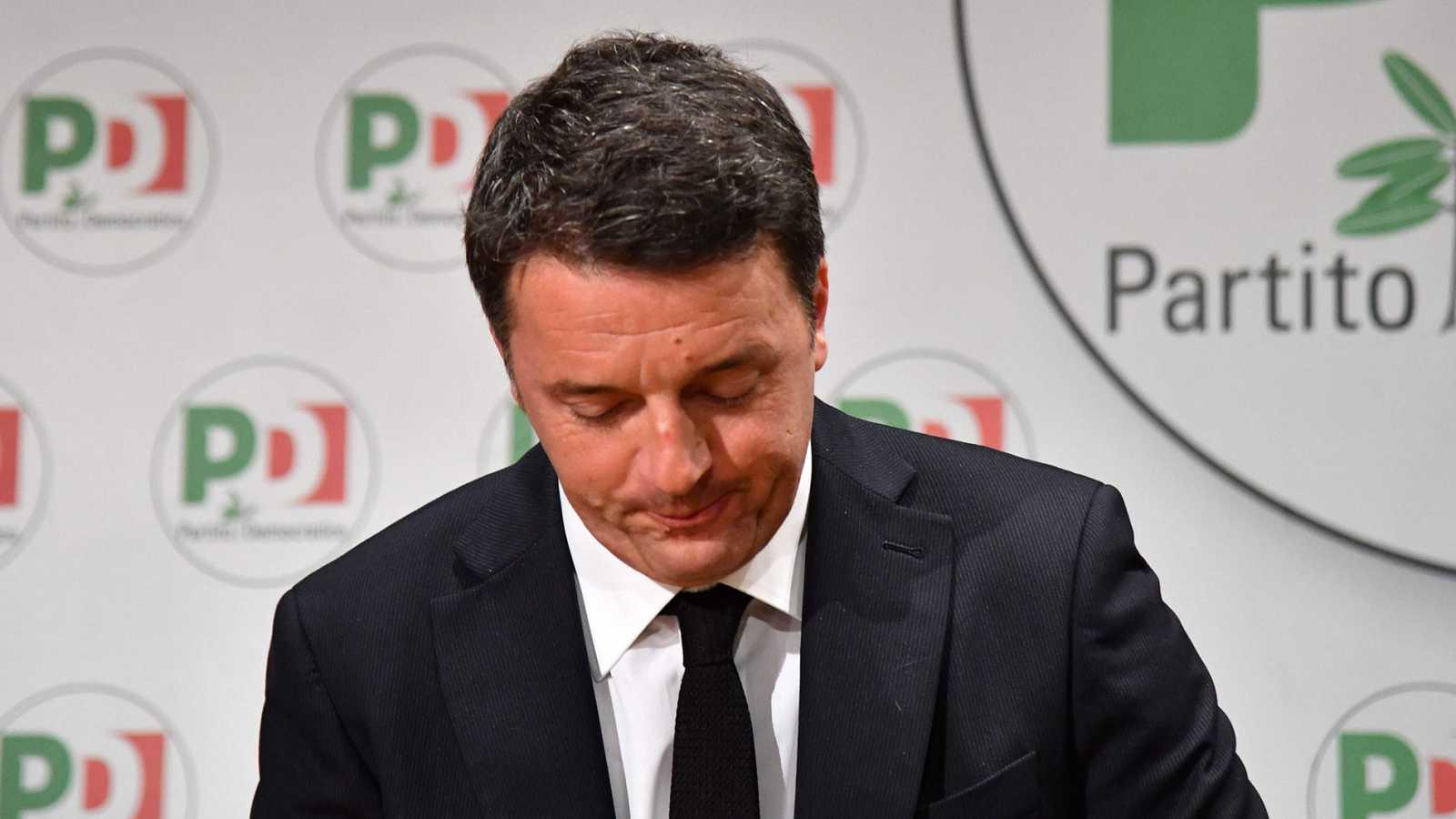 Matteo Renzi anuncia su dimisión al frente del Partido Democrático por los malos resultados en las elecciones
