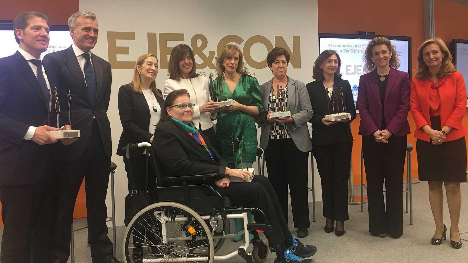 El TD2 de TVE, galardonado en los premios EJE&CON