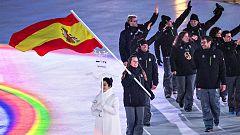 Así ha sido el desfile de los representantes españoles desde dentro