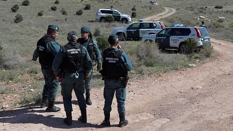 La Guardia Civil registra la finca en la que Ana Julia Quezada ocultó el cuerpo de Gabriel