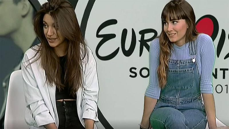 """Ana Guerra: """"Lloré cuando vi el videoclip de Amaia y Alfred"""""""