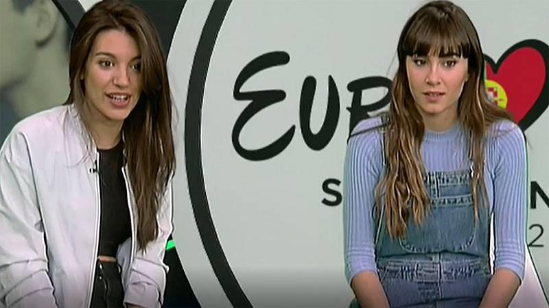 Ana Guerra y Aitana, encantadas con que 'Lo malo' sea un himno feminista