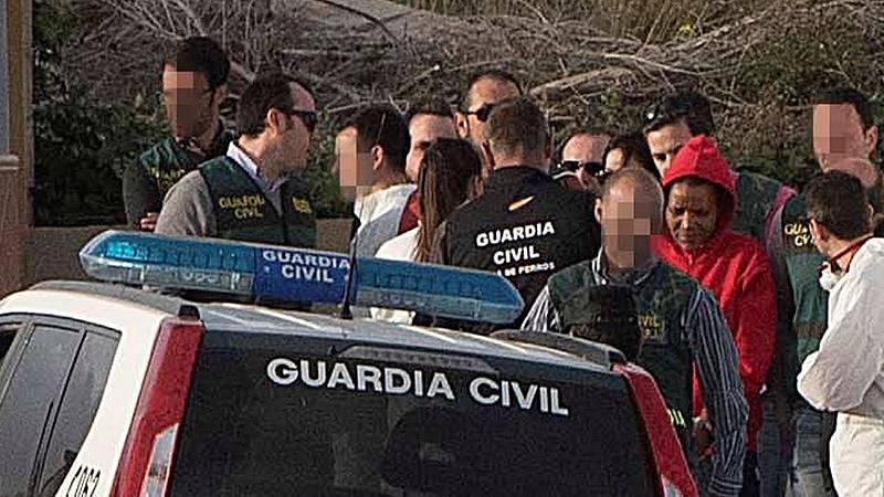 La Guardia Civil reconstruye el crimen de Gabriel con Ana Julia en la finca donde lo pudo ocultar
