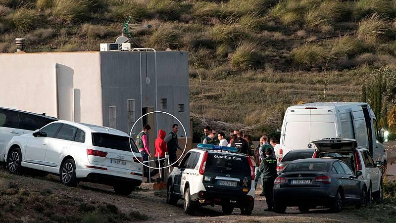 La Guardia Civil traslada a Quezada a la finca familiar para reconstruir el crimen de Gabriel