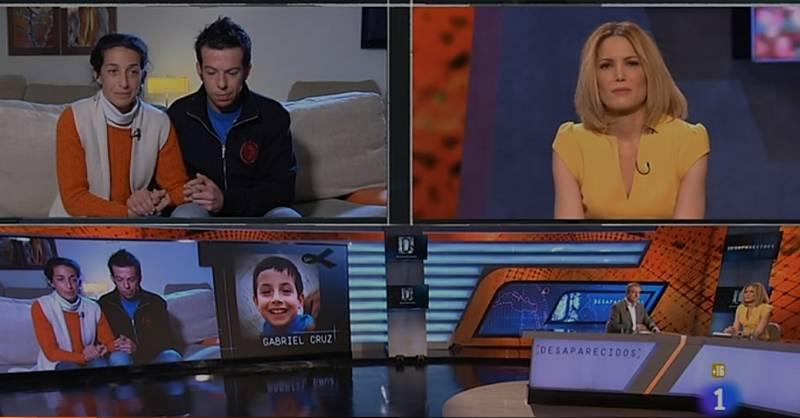 Entrevista íntegra a los padres de Gabriel en el programa 'Desaparecidos'