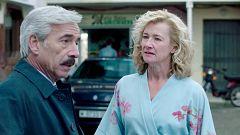 Cuéntame cómo pasó - Mercedes y Antonio discuten en plena calle