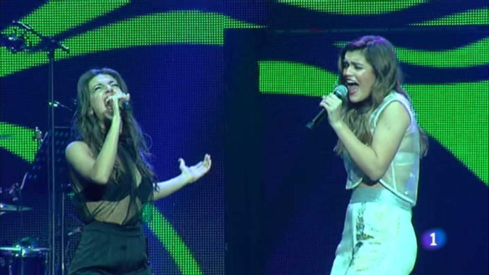 El segundo concierto de la gira de 'OT' ilumina Madrid