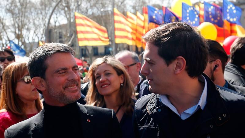 """Valls: """"El proceso independentista ha fracasado"""""""