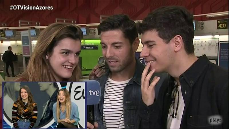"""OTVisión - Alfred y Amaia antes de partir a las Azores: """"Hay que aprovechar cada momento"""""""